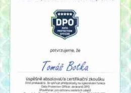 DPO certifikát